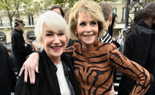 Fashion Week L Oreal Jane Fonda
