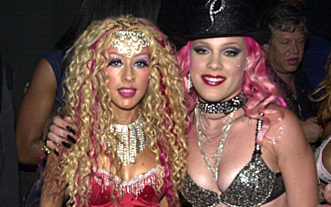 Pink Reckons Christina Aguilera Tried To Punch On With Her In The Early 00s