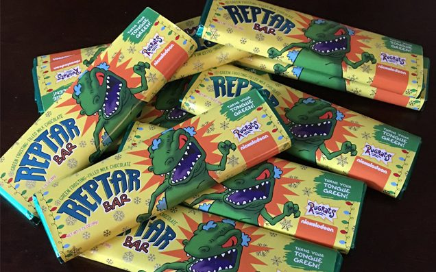 Someone Actually Made 'Rugrats' Reptar Bars Because The 90s Were Tasty AF