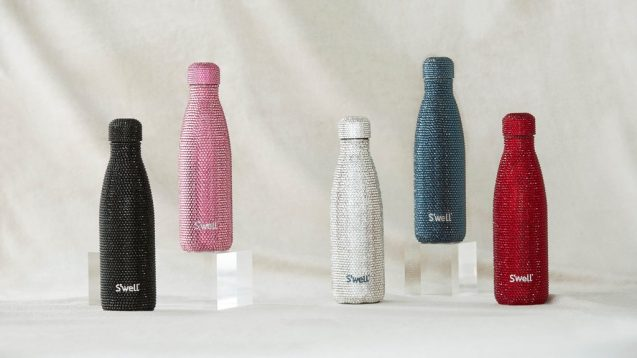 These $2,000 Swarovski X S'well Water Bottles Are The Definition Of Extra