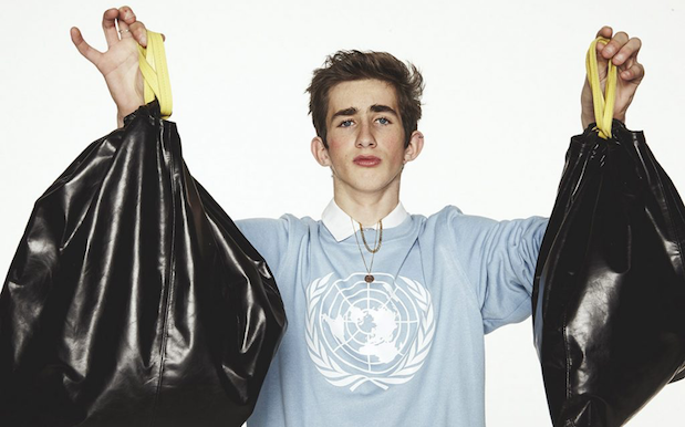 Here's A $632 Leather Bin Bag, So You Can Literally Throw Money Away