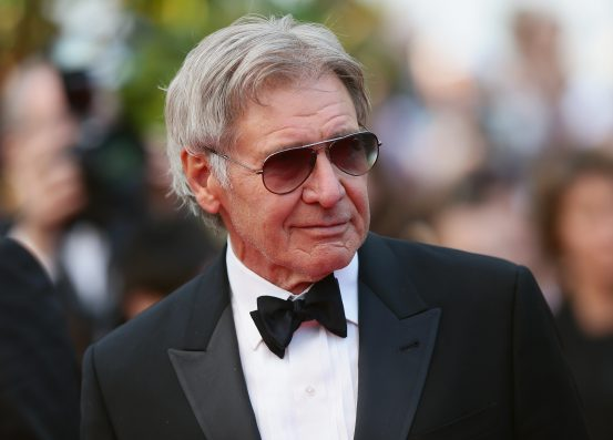 Harrison Ford helps woman after she crashes her vehicle off highway