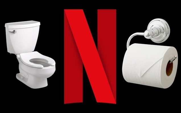 Fess Up: Which 8% Of You Are Watching Netflix In Public Bathrooms?