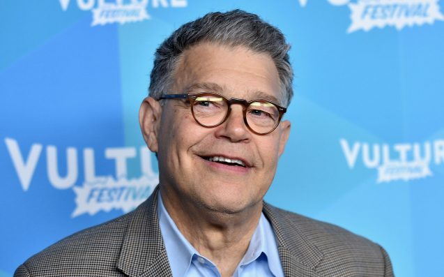 Al Franken apologizes after groping, kissing accusation