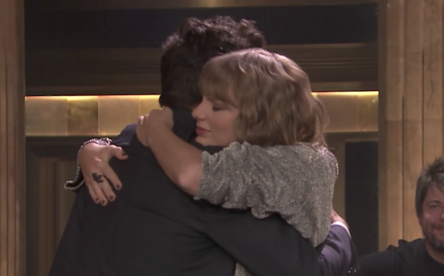 Here's How An Unexpected Taylor Swift Lyric Brought Jimmy Fallon To Tears