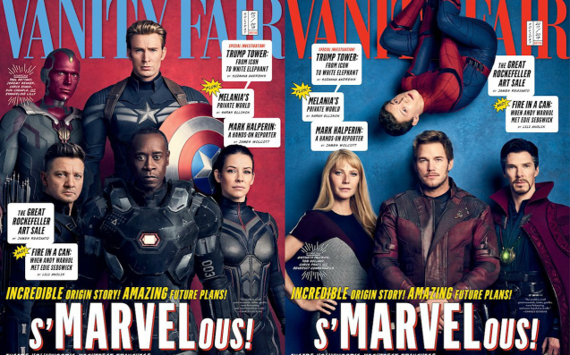 vanity fair assembled the avengers and then some on four huge covers - The Avengers