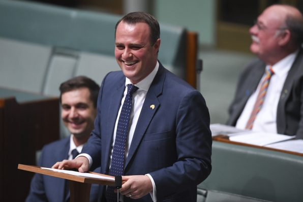 Liberal MP Tim Wilson Proposes To His Partner In Parliament