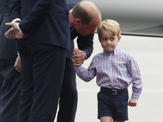 Prince William reveals George played a sheep in his school nativity play