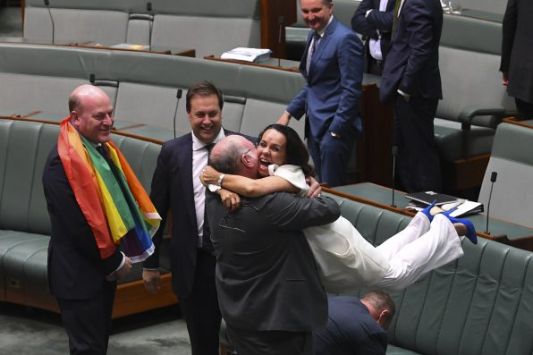 Here's How Everyone Reacted When Marriage Equality Became Law In Australia