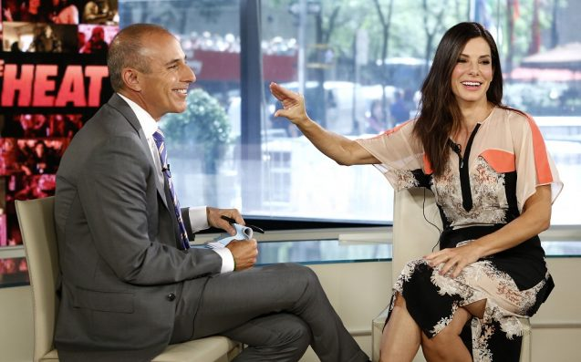 Reframing Matt Lauer's On-Screen Moments: How About That Sandra Bullock Interview?