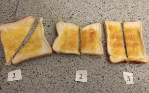 A British Club Night Started A Twitter War Over The Proper Way To Slice Toast