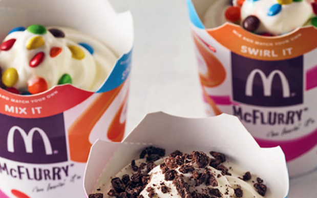 PSA: Uber Eats Are Slingin' Free Macca's McFlurries Your Way This Week