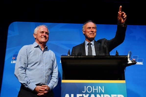 Relief for Liberals as Bennelong byelection win saves Turnbull's majority