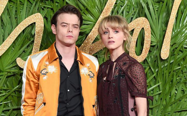 Stranger Things stars make debut as a couple at UK Fashion Awards