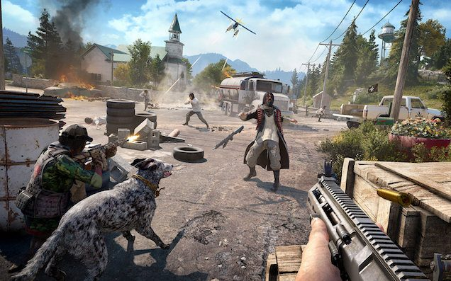 We Played 'Far Cry 5' Ahead Of Its Release & Fanged Around In A Big Rig