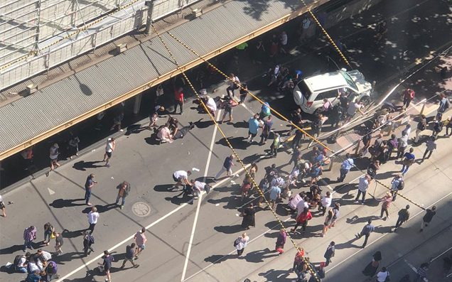 Irish person injured after SUV ploughs into crowd of pedestrians in Melbourne