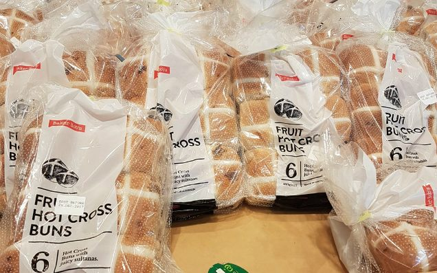 Woolies & Coles Are Already Selling Hot Cross Buns 'Cos Santa Can Fuck Off