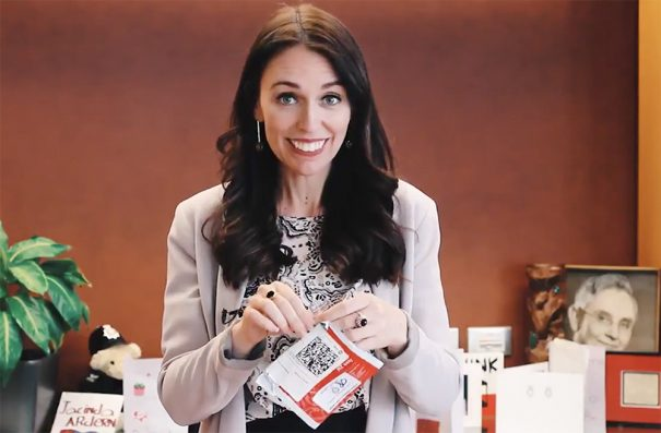 Jacinda Ardern's Secret Santa recipient shares gift