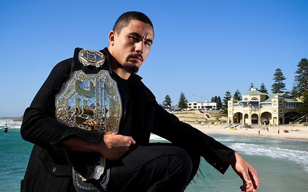 Robert Whittaker vs Luke Rockhold is on for UFC 221 in Perth!