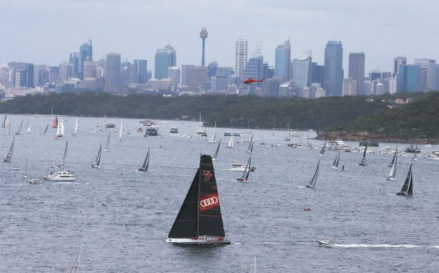 Sydney to Hobart: Wild Oats XI pips Comanche in race record