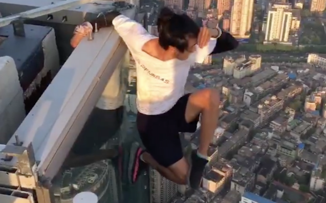 Famous Chinese 'Rooftopper' Falls to Death from 62-Story Building