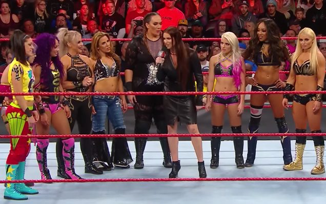 Stephanie McMahon announces first-ever Women's Royal Rumble Match