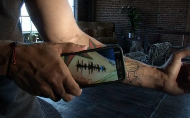 What The Hell Are Those Playable Sound Wave Tattoos, And Are They Legit?