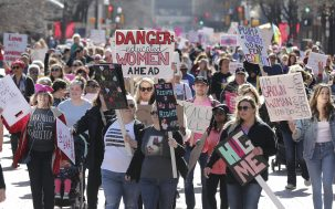 Thousands Of Protesters Across The U.S. Stick It To Trump In The 2nd Women's March