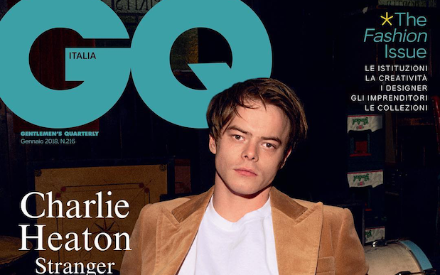 FYI: Charlie Heaton's Got A New GQ Fashion Spread & He Is Quite The Snack