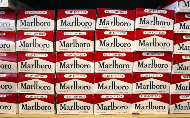 Philip Morris plans to give up cigs in the UK