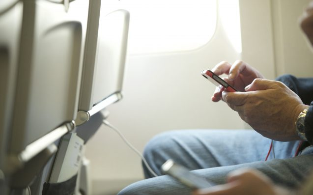 The Insane Reason You Shouldn't Grab Yr Phone If It Falls Between Plane Seats