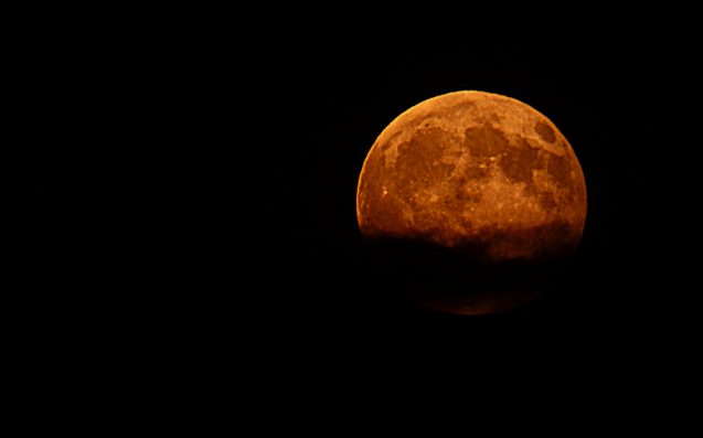 Extremely rare lunar 'triple threat' early Wednesday