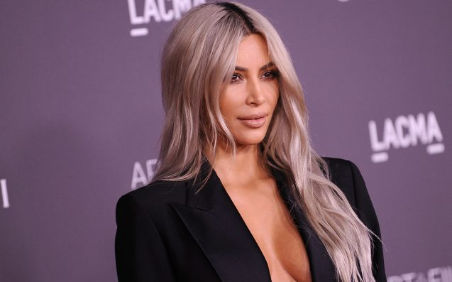 Kim Kardashian Did Not Hint at Baby's Name With Louis Vuitton Snap