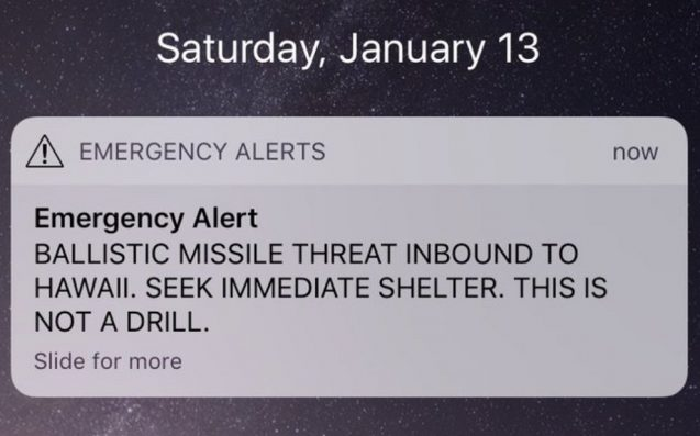 'Seek Immediate Shelter': Missile Alert Text Sent Out By Mistake In Hawaii