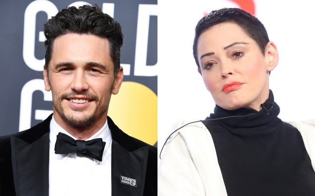 """Rose McGowan Slams """"Hipster Prince"""" James Franco Over Sexual Misconduct"""