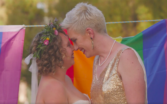WATCH: Feast Your Teary Eyes On Tassie's First & V. Fabulous Same-Sex Wedding