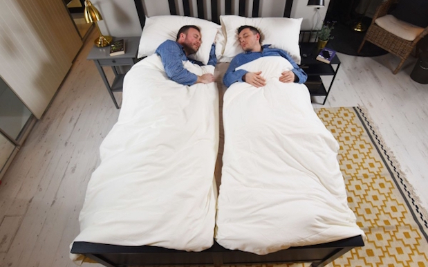 IKEA Releases Individual Coupleu0027s Doonas Bc Youu0027re All Revolting Bed Hogs