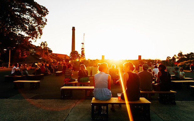 Cockatoo Island's Doing Sunset Acoustic Sessions W/ Fancy Cheese & Wine