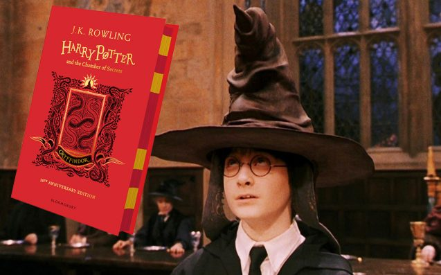 Rep Your House With The 20th Anniversary 'Chamber Of Secrets' Hardcovers