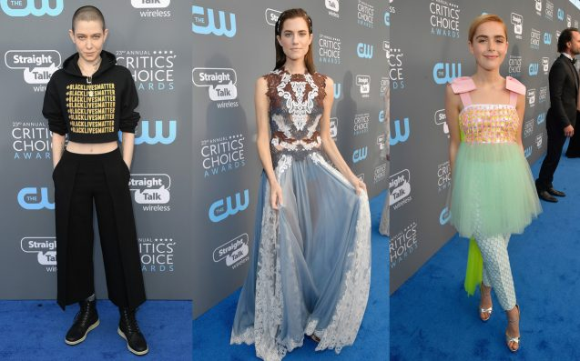 37 Bold-Ass Looks From The 23rd Annual Critics' Choice Awards