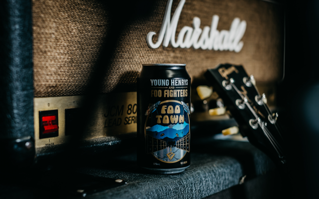Young Henrys' Latest Collab Beer Is With The Fkn Foo Fighters