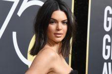 Kendall Jenner Acne Golden Globes Trolls