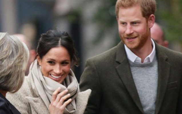 Prince Harry and Meghan Markle make their first appearance of year