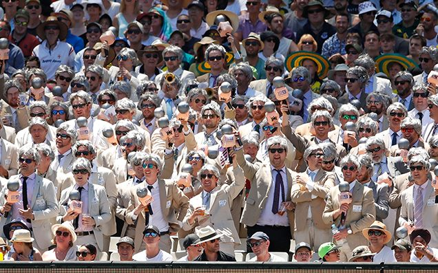 The Richies Have Gathered En Masse For A Marvellous Day 2 Of The SCG Test