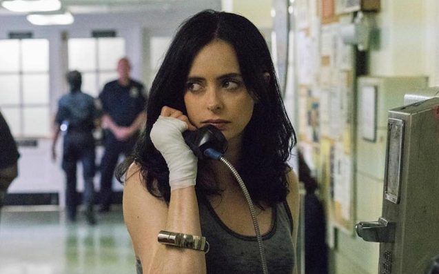 New Jessica Jones 2 Photos Have Jessica in Chains