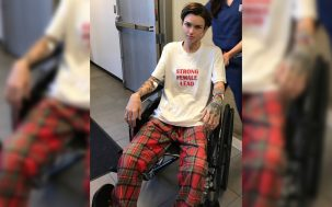 ruby rose wheelchair