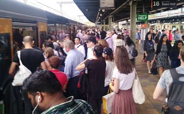 More Sydney rail delays after day of chaos