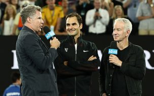 Will Ferrell Crashed The Aus Open To Grill Roger Federer, Burgundy-Style