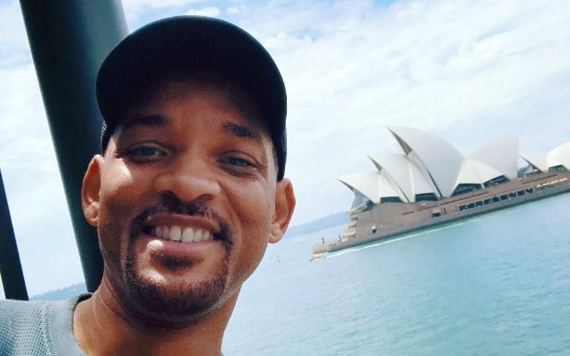 Will Smith Is Hanging Out In Sydney RN For Some Mysterious Reason