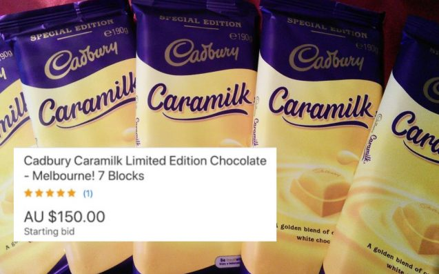 Fuck Bitcoin, Cadbury's Throwback 'Caramilk' Bars Are Selling For Heaps RN